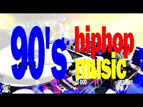 90's Old School Hiphop / Rap Music - DJ DOD Megamix