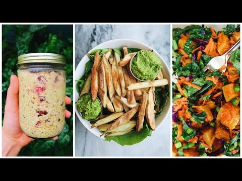 What I Eat In a Day // Vegan Student (Fast and Easy Meals)