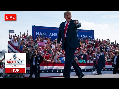 🔴 Watch LIVE: President Trump Holds Make America Great Again Rally in Erie, PA 10/20/20