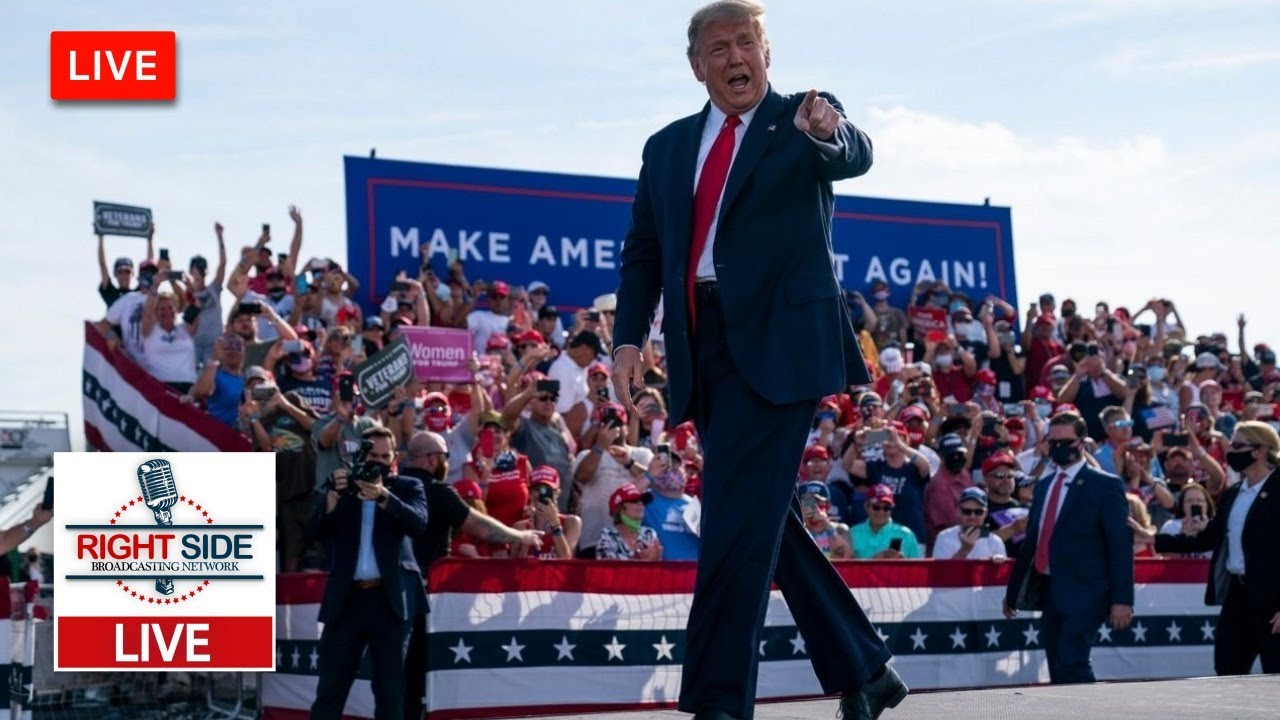 WATCH LIVE: President Trump Holds Make America Great Again Rally in Erie, PA 10/20/20
