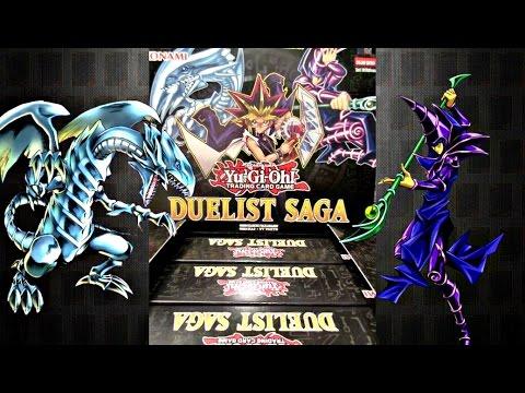 yugioh duelist saga box opening