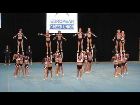 DENMARK - AARHUS TIGERS CHEERLEADERS TIGERS UNIQUE on ECU 2017