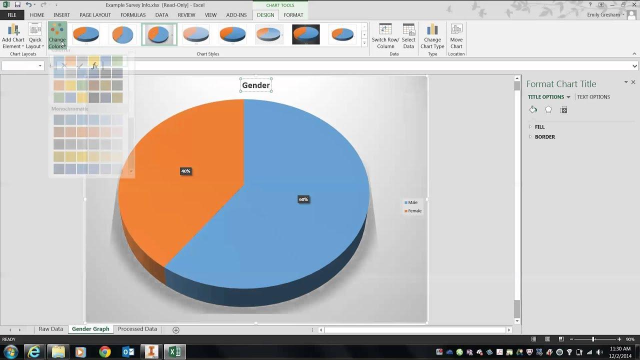 Edd Survey Data - Part 2 Pie Graph
