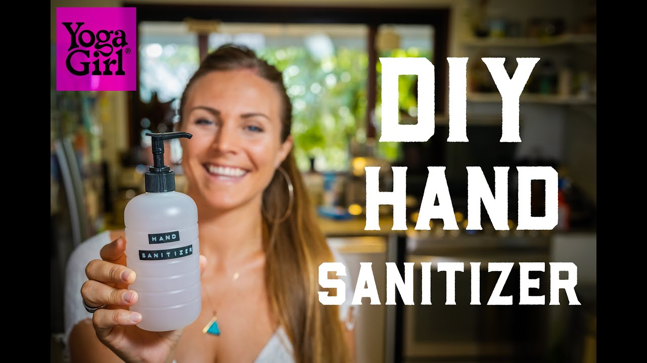 Diy Hand Sanitizer And Make Your Own Aloe Vera Gel Youtube