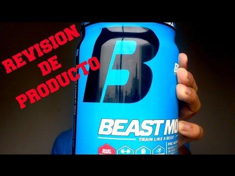 Beast Mode Pre Workout   Revisión de Suplemento