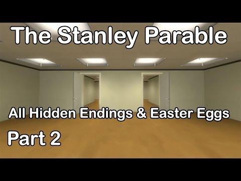 The Stanley Parable - All Hidden Endings & Easter Eggs Part 2