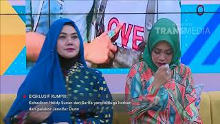 RUMPI - Heidy Sunan Menangis Melihat Foto Berdua Anak Di KPAI, Ini Curhatannya (22/5/18) Part 3