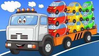 Развивающие Мультики Машины Помощники - Большой Сборник - Для Детей - Приключения на Дороге