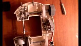Ремонт мини швейной машинки 4в1 урок 3