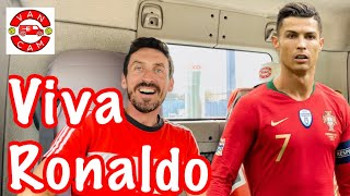 MAN UTD VANCAM   Cristiano Ronaldo Returns To Manchester United  