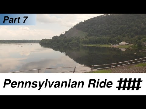 Harrisburg Station to Lewistown Station: Amtrak Pennsylvanian Ride Part 7 of 10
