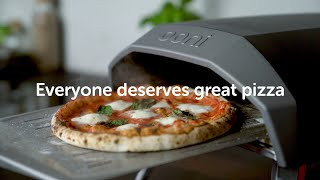 Making incredible pizza is easy with Ooni