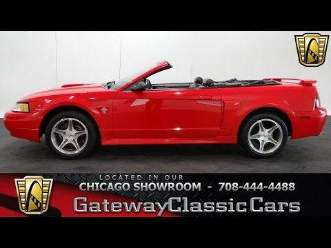 1999 Ford Mustang GT Gateway Classic Cars Chicago #1030