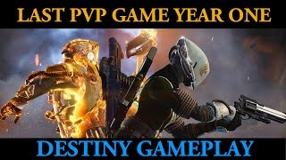 Last PvP Game On Year 1 Destiny (Last Word Hand Cannon Gameplay)