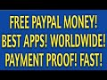 Earn PayPal Money With These Best Money Making Apps! WORLDWIDE! Payment Proof! Triple Your Money!