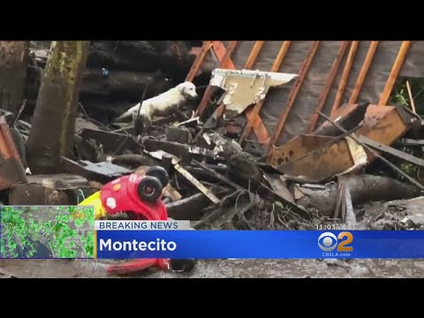 Mudslides In Montecito Kill 5, Destroy Several Houses