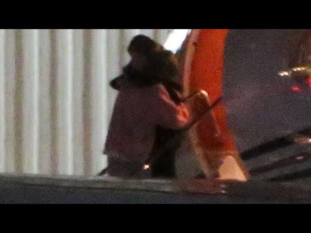 Justin Bieber Breaks Down, Hailey Baldwin Hugs Her Hubby Before Boarding Private Jet - EXCLUSIVE