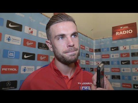 Slovenia 0-0 England - Jordan Henderson Post Match Interview