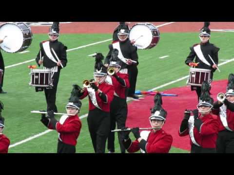Kearny High School Marching Unit at Weehawken performance