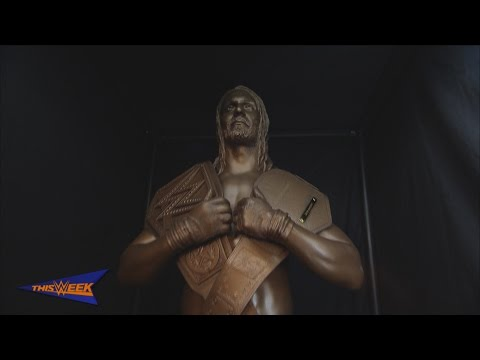 WWE Network: The making of Seth Rollins' statue