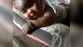 Cute ladu (kartik) funny face baby crying | ladu like sweet lollypop😀