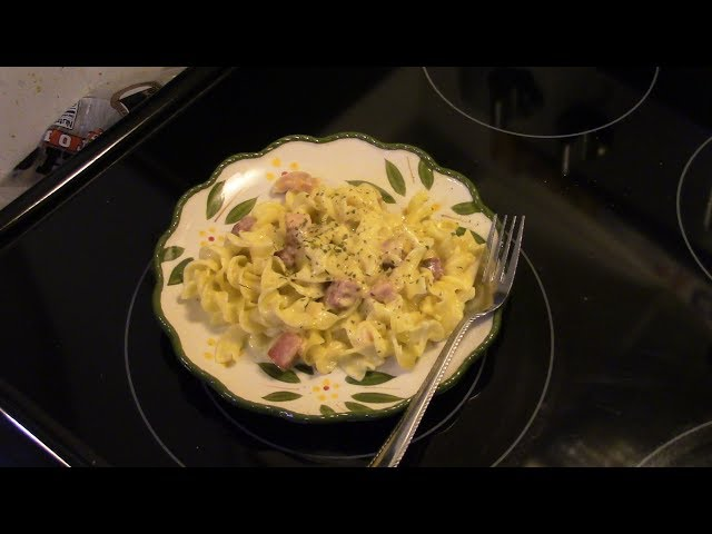 Ham and Noodle Casserole in the Copper Chef XL