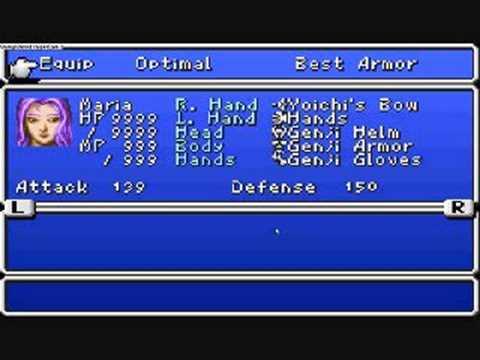 final fantasy 2 gba emulator cheats