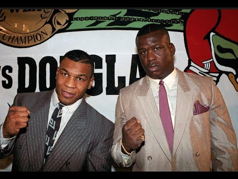 MIKE TYSON VS JAMES BUSTER DOUGLAS : THE BIGGEST UPSET IN SPORTING HISTORY !!