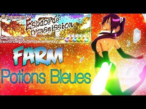 [REDIFF]🔷LIVE BLEACH BRAVE SOULS🔷Farm Potions Bleues - Espace de Transmission