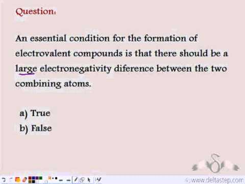 Ionic Bond Conditions And Examples Youtube