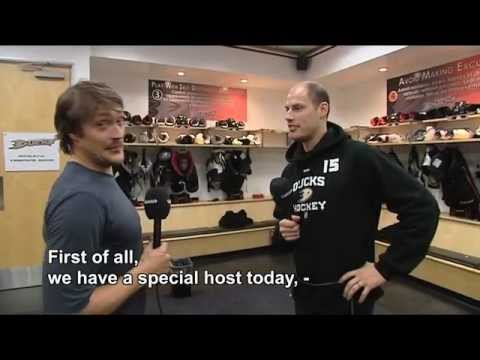 Teemu Selanne and Ryan Getzlaf Tour the Ducks Facility at Ho