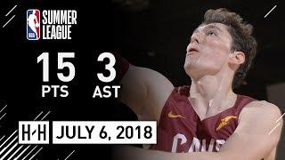 Cedi Osman Full Highlights vs Wizards (2018.07.06) Summer League - 15 Pts, 3 Ast, 9 Reb