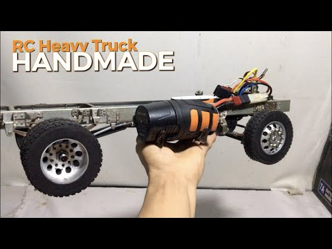 AWESOME RC Heavy Construction Tractor Trucks! DIY Idea Action Test