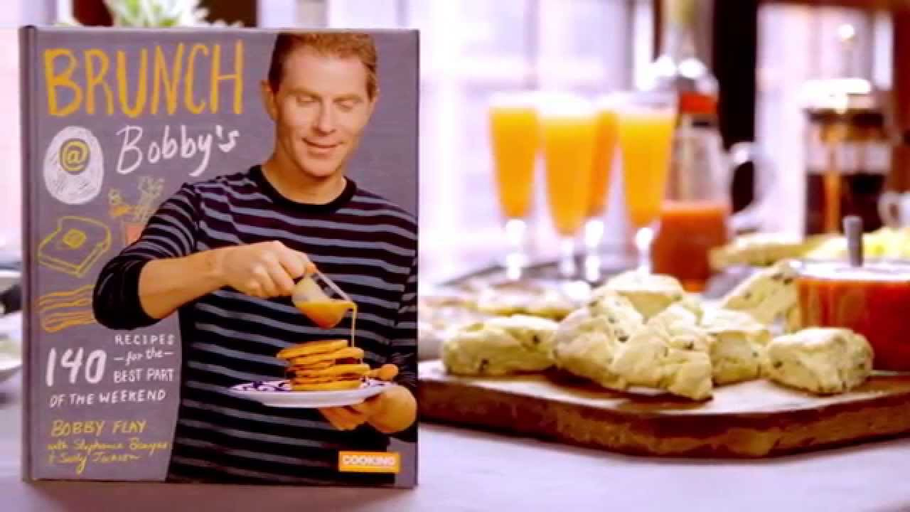 Bobby flay on his new book brunch bobby 39 s youtube for Brunch with bobby recipes
