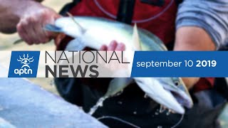 APTN National News September 10, 2019 – Update on massive landslide in BC, Clean water for one FN