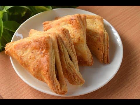 बेकरी जैसे अनेकों परतों के साथ क्रिस्पी पफ आलू पेटीज बनाने आसान तरीका-Puff Patties Recipe| Recipeana