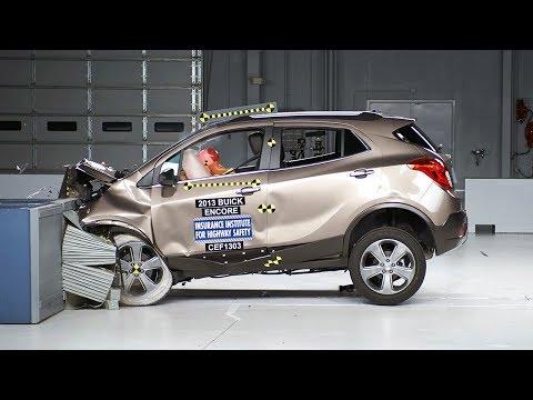 2013 Buick Encore moderate overlap test