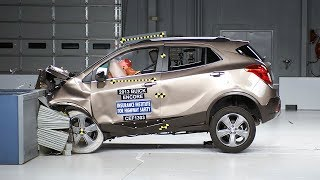 2013 Buick Encore moderate overlap IIHS crash test