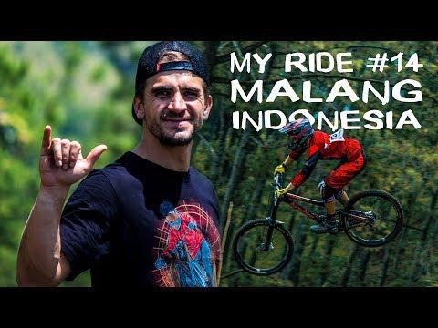 Led v plus 30°C?! - Indonesian Downhill Klemuk 2017   Matej Charvat - MY RIDE #14
