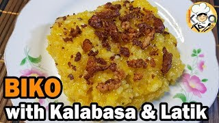 BIKO RECIPE | with Kalabasa and Latik