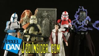 Star Wars SDCC Exclusive Carbon Freezing Chamber Lost Line Figure Review