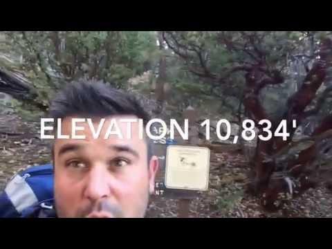 Backpacking Mt. San Jacinto 11.1 - 11.2.16