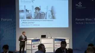 Vortrag: E-Mail-Verschlüsselung im Unternehmen - Pflicht und Kür (it-sa 2015)