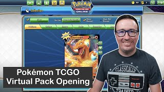 Virtual Pack Opening for the Pokémon Trading Card Game Online (TCGO), August Edition