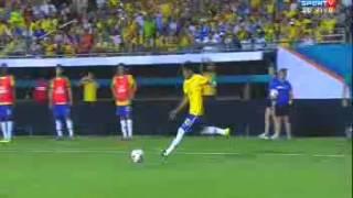 Gol de Dante Brasil 5 x 0 Honduras Amistoso 2013
