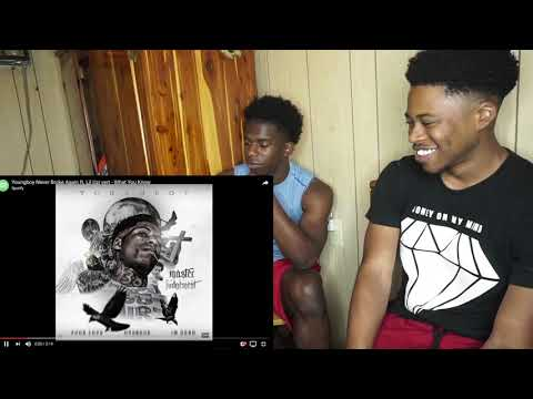 Youngboy Never Broke Again ft. Lil Uzi vert - What You Know REACTION!!!