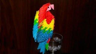 как сделать попугай ара
