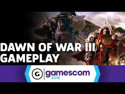 Space Marines Crushing Eldar in Dawn of War III Gameplay