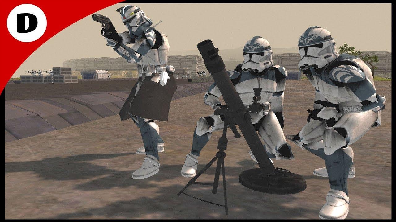 COMMANDER WOLFFE UNDER SIEGE! - Men Of War: Star Wars Mod ...