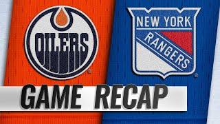 Nugent-Hopkins, McDavid propel Oilers past Rangers